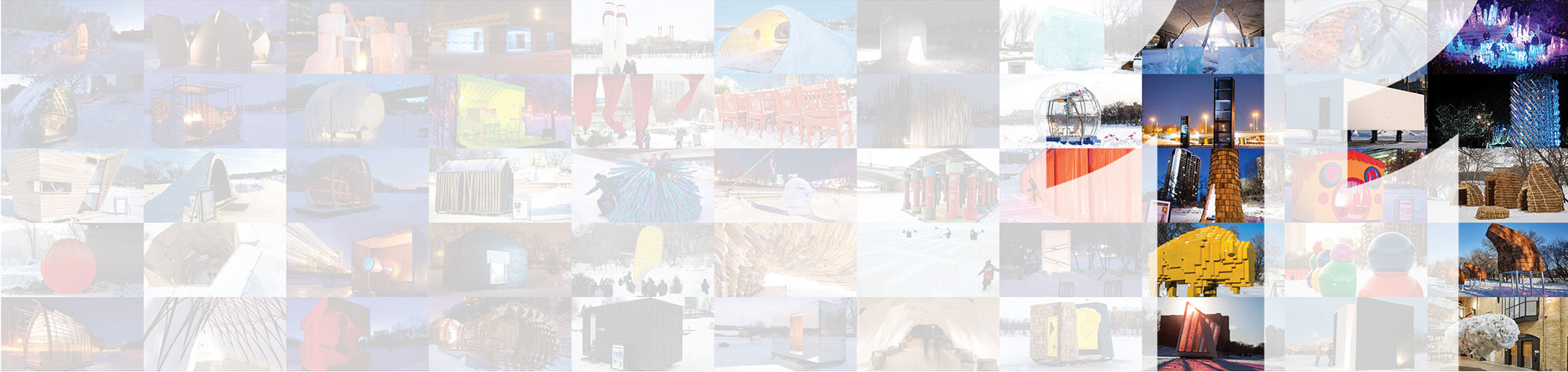 an arts + architecture competition on ice - WARMING HUTS v.2021